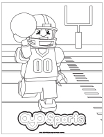 Football Coloring Pages DOWNLOAD